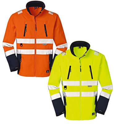 4Protect HiVis Softshell Jacke PITTSBURGH