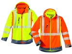 4Protect HiVis Softshell Jacke HOUSTON