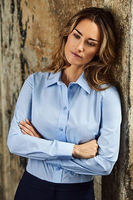 Business Women's POPLIN Hemd 1/1 Arm, 60 % Baumwolle, 40 % Polyester, 125 g/m²