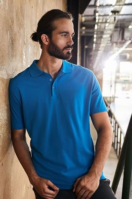 Men's Superior Polo Piqué, 100 % Baumwolle, 220 g/m², XS–5XL.