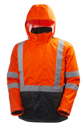 HELLY HANSEN ALTA HiVis Shell Jacke orange