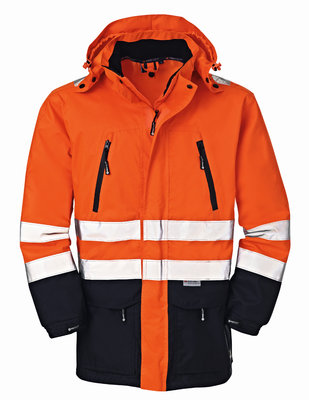 4Protect HiVis Warnschutz Jacke DETROIT orange