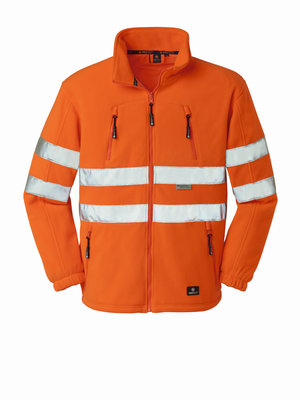 4Protect HiVis Fleece Jacke SEATTLE orange
