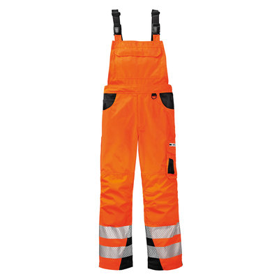 HiVis Warn Latzhose ALABAMA orange