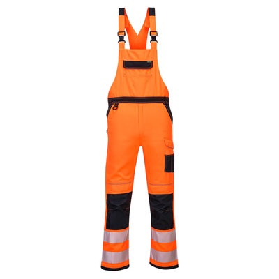 HiVis Warn Latzhose PW3 orange
