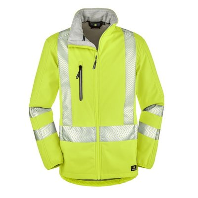 4Protect HiVis Softshell Jacke TYLER gelb